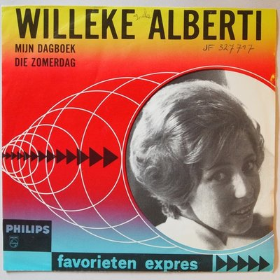 Willeke Alberti - Mijn dagboek - Single