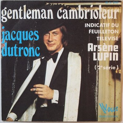 Jacques Dutronc - Gentleman cambrioleur - Single