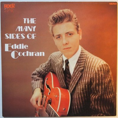 Eddie Cochran - The many sides of - LP