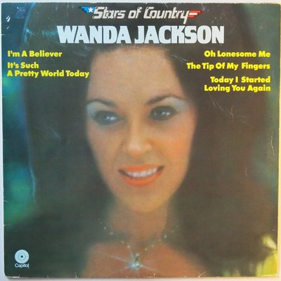 Wanda Jackson - Stars of country - LP