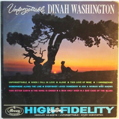 Dinah Washington - Unforgettable - LP