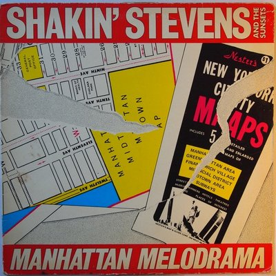 Shakin' Stevens and the Sunsets - Manhattan melodrama - LP