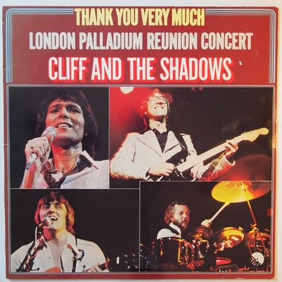 Cliff Richard and The Shadows - Thank you very much - The London Palladium Reunion Concert - LP