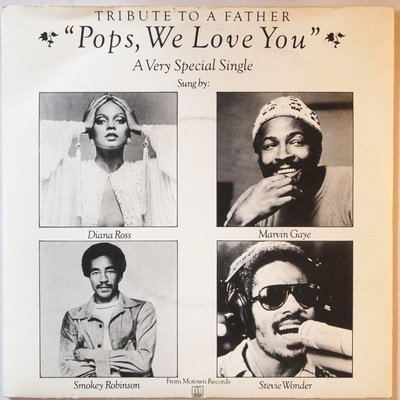 Diana Ross, Marvin Gaye, Smokey Robinson & Stevie Wonder - Pops, we love you - Single