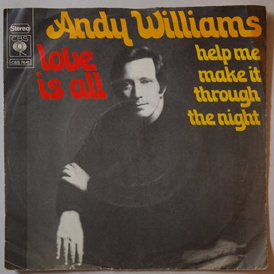 Andy Williams - Love is all - Single