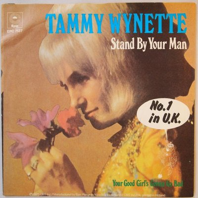 Tammy Wynette - Stand by your man - Single