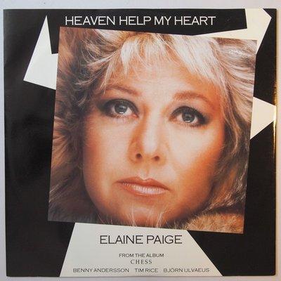 "Elaine Paige - Heaven help my heart - 12"""