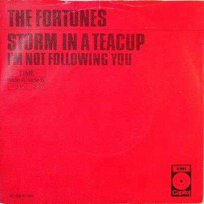 The Fortunes - Storm in a teacup - Single