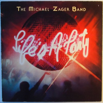 Michael Zager Band - Life's a party - LP