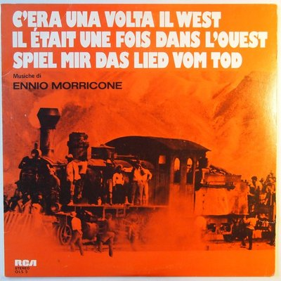 Ennio Morricone - C'era una volta il West - LP