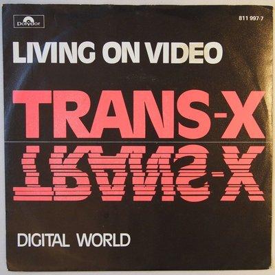 Trans-X - Living on video - Single