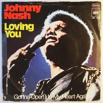 Johnny Nash - Loving you - Single