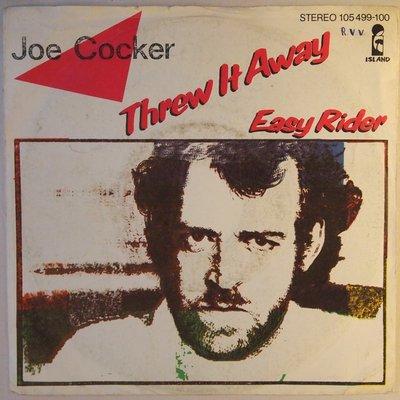 Joe Cocker - Threw it away - Single