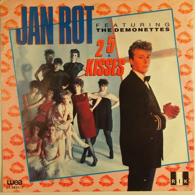 Jan Rot - 25 kisses - Single