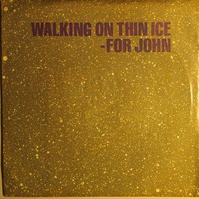 Yoko Ono - Walking on thin ice - Single