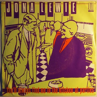 Jona Lewie - You'll always find me in the kitchen at parties - Single