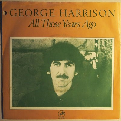 George Harrison - All those years ago - Single