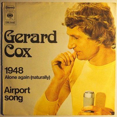 Gerard Cox - 1948 - Alone again (naturally) - Single