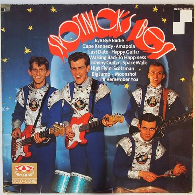 Spotnicks, The - Spotnick's best - LP