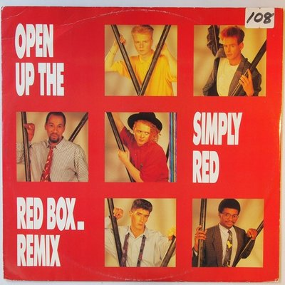 """Simply Red - Open up the red box - 12"""""""