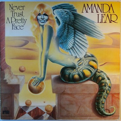 Amanda Lear - Never trust a pretty face - LP