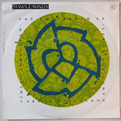 Simple Minds - The Amsterdam E.P. - Single