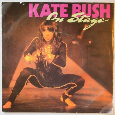 Kate Bush - On stage - Single