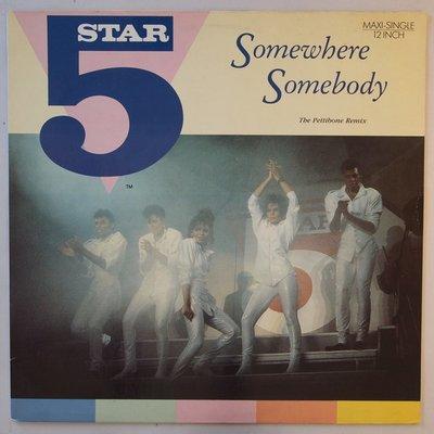 """Five Star - Somewhere somebody - 12"""""""
