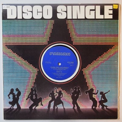 """Boney M - Young free and single - 12"""""""