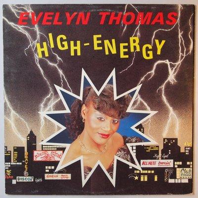 """Evelyn Thomas - High energy - 12"""""""