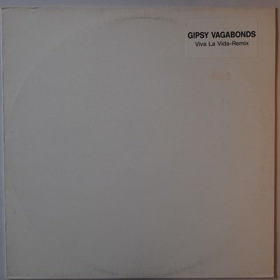 "Gipsy Vagabonds  - Viva la vida (remix) - 12"""