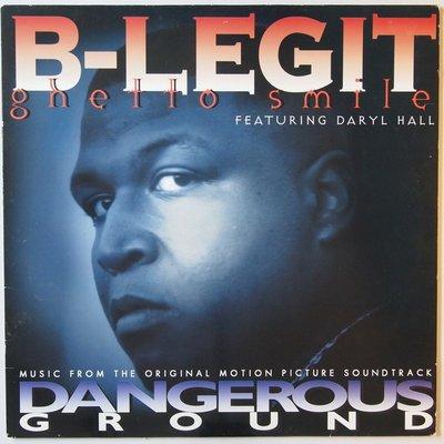 "B-Legit featuring Daryl Hall - Ghetto smile - 12"""