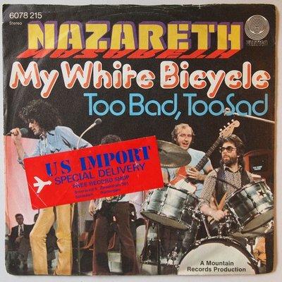 Nazareth - My White Bicycle - Single