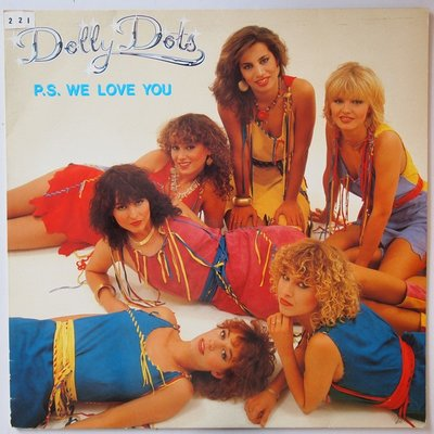 Dolly Dots - PS we love you - LP