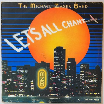 Michael Zager Band - Let's all chant - LP