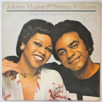 Johnny Mathis & Deniece Williams - That's what friends are for - LP
