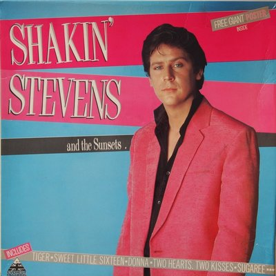 Shakin' Stevens and The Sunsets - Shakin' Stevens and The Sunsets - LP