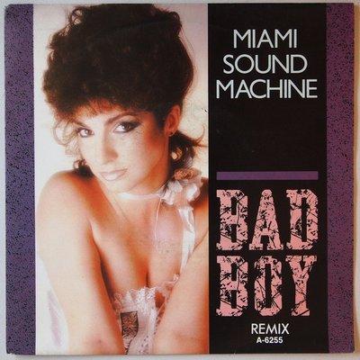 Miami Sound Machine - Bad boy - Single