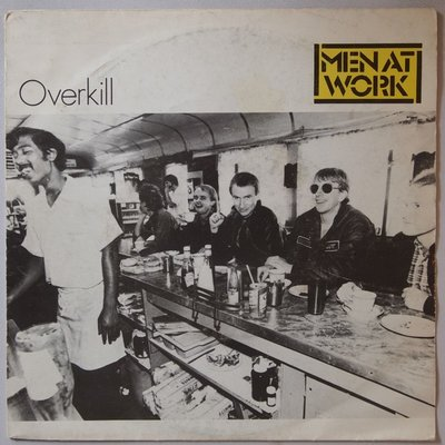 Men At Work - Overkill - Single