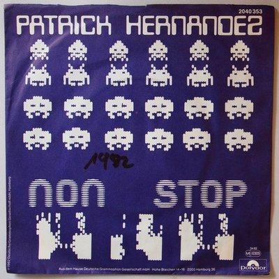 Patrick Hernandez - Non stop - Single