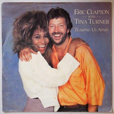 Eric Clapton with Tina Turner - Tearing us apart - Single