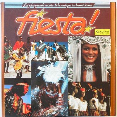 Various - Fiesta! Les Plus Grands Succès De La Musique Sud-Américaine  - LP