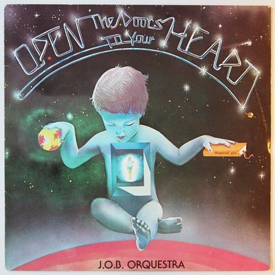 J.O.B. Orquestra - Open the doors to your heart - LP