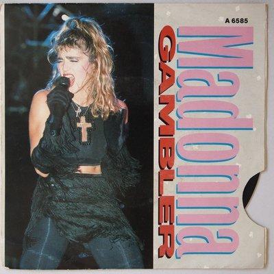 Madonna - Gambler - Single