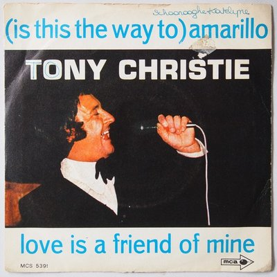 Tony Christie - (Is this the way to) Amarillo - Single