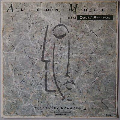 Alison Moyet with David Freeman - Sleep like breathing - Single