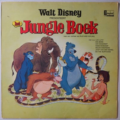 Walt Disney - Jungle Boek - LP