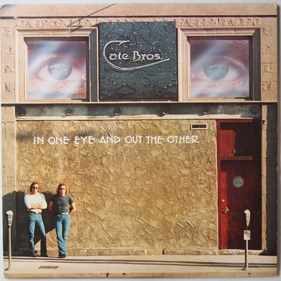 Cate Bros - In one eye and out the other - LP