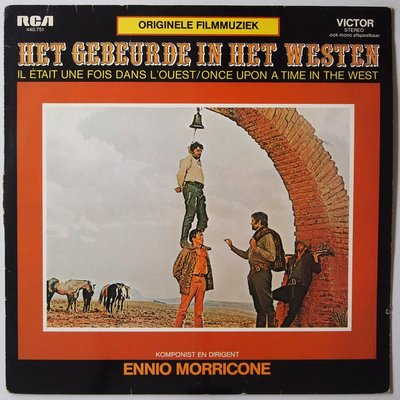 Ennio Morricone - Het gebeurde in het westen - LP