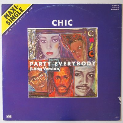"""Chic - Party everybody - 12"""""""